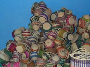 Bolga Baskets produced in Bolgatanga